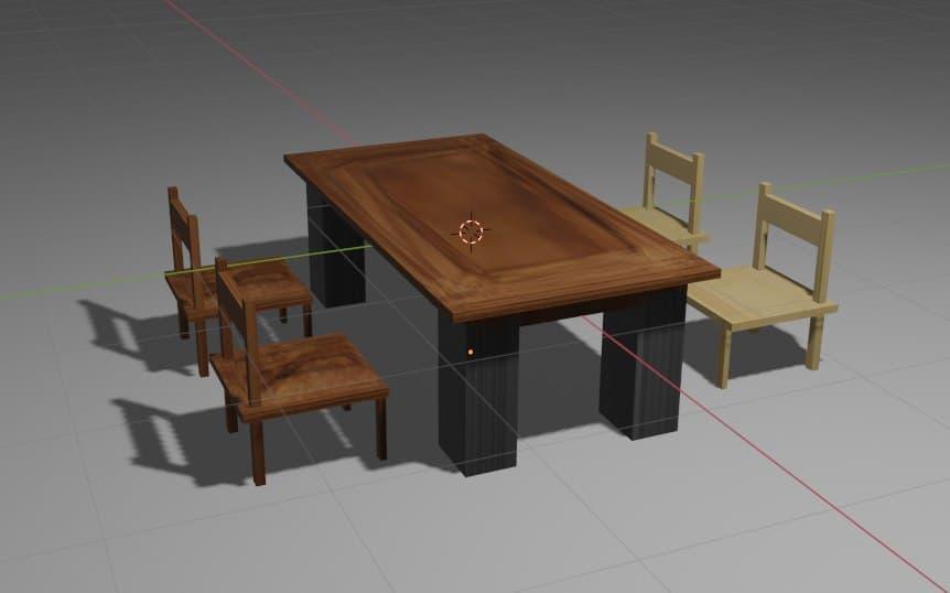 Il nostro primo tavolino in legno